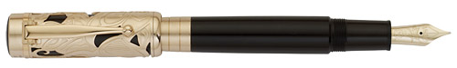 Montblanc Limited Editions - Carlo Collodi Writers Edition 2011 - Year: 2011 - Dark Brown/Gold - Edition: 12,000 Fountain Pens - Fountain Pen