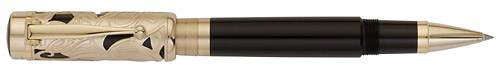 Montblanc Limited Editions - Carlo Collodi Writers Edition 2011 - Year: 2011(Reg: $930) - Dark Brown/Gold - Edition: 8400 Rollerballs - Rollerball