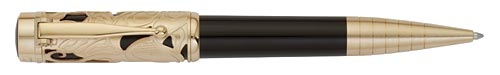 Montblanc Limited Editions - Carlo Collodi Writers Edition 2011 - Year: 2011 - Dark Brown/Gold - Edition: 14,600 Ball Pens - Ball Pen