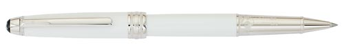 White/Platinum finish - Meisterstuck Rollerball   (Reg: $1,035) shown