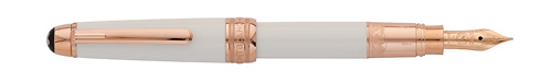 Montblanc - Tribute to Montblanc - White/Gold Mozart Fountain Pen(Cartridge Fill Only)  (Reg: $1,045)