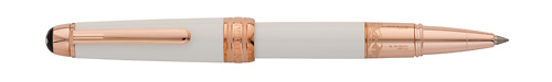 White/Gold finish - Mozart Rollerball  (Reg: $940) shown