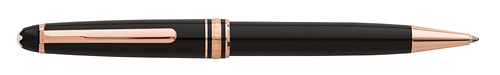 Black with Red Gold Trim finish - Classique Ball Pen  (Reg: $420) shown