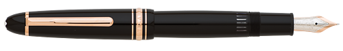 Black with Red Gold Trim finish - LeGrand  #146 Fountain Pen  (Reg: $705) shown