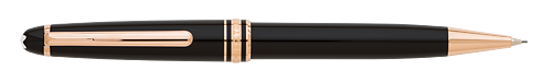 Black with Red Gold Trim finish - Classique Pencil 0.7mm  (Reg: $420) shown