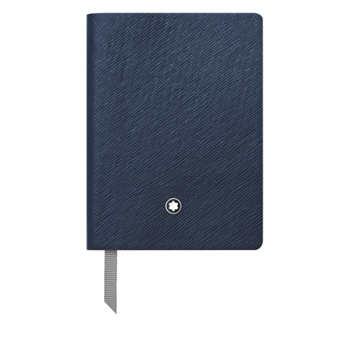 #145 Blue Indigo Lined - 64 Pages 3 x 4.25 in. finish - Indigo Lined Pocket Notebook shown