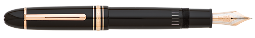 Black with Red Gold Trim finish - 149 Fountain Pen  (Reg: $935) shown