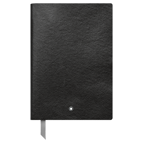 #146 Black Squared - 96 Pages  6x 8.2 in. finish - Black Squared Notebook shown
