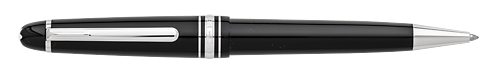 Black with Platinum Trim finish - Ball Pen Mid Size #114185 (Reg: $460) shown