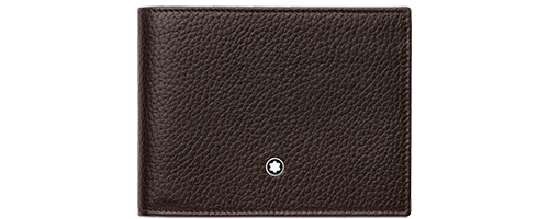 Brown - 6 CC finish - Wallet - #114460 shown
