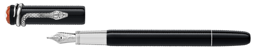 Montblanc - Heritage Rouge et Noir - Black   (#114722) Fountain Pen (Reg: $755)