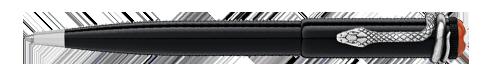 Montblanc - Heritage Rouge et Noir - Black  (#114724) Ball Pen  (Reg: $475)