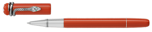Coral    finish - Rollerball  (Reg: $640) shown