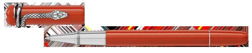 Montblanc - Heritage Rouge et Noir - Coral   (#114726) Rollerball  (Reg: $685)