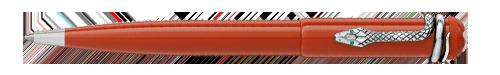Montblanc - Heritage Rouge et Noir - Coral    (#114727) Ball Pen (Reg: $560)