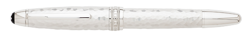 Hammered Sterling Silver finish - LeGrand Fountain Pen (Reg: $1,660) shown