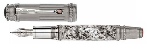 Montblanc Limited Editions - Scipione Borghese  - Year: 2017 - Granite  - Edition: 4810 Fountain Pens - Fountain Pen