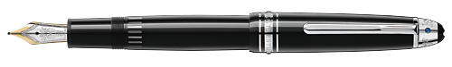 Montblanc - UNICEF Signature for Good - Platinum-Coated   LeGrand Fountain Pen (Reg: $870)