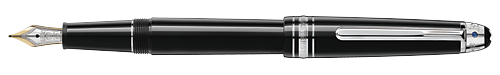 Platinum-Coated finish - Classique Fountain Pen (Reg: $695) shown