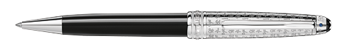 Platinum-Coated Doue finish - Ball Pen    (Reg: $700) shown