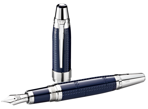 Montblanc Limited Editions - Antoine Saint-Exupéry Writers Edition - Year: 2017 - Midnight Blue (Reg: $955) - Edition: 9,800 Fountain Pens - Fountain Pen