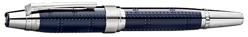 Montblanc Limited Editions - Antoine Saint-Exupéry Writers Edition - Year: 2017 - Midnight Blue (Reg: $800) - Edition: 8,600 Rollerballs - Rollerball
