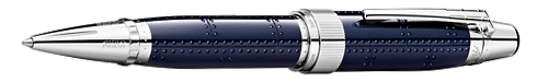 Montblanc Limited Editions - Antoine Saint-Exupéry Writers Edition - Year: 2017 - Midnight Blue (Reg: $745) - Edition: 10,300 Ballpoints - Ball Pen