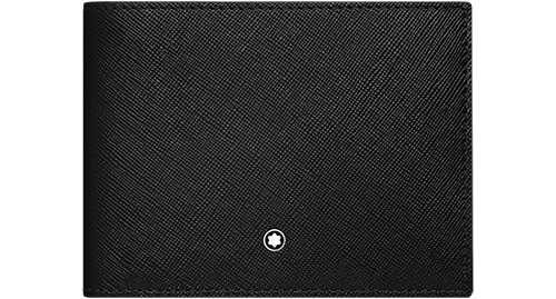Black/Indigo- 6 CC finish - Wallet with Removeable Card Holder - #116330 shown