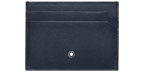 Indigo/Flannel - 5 CC finish - Card Holder - #116339 shown