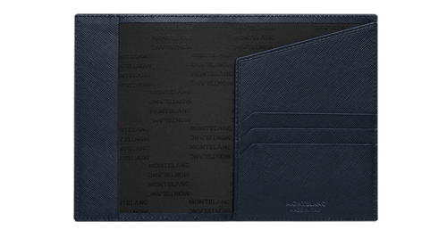 Black/Indigo  finish - Passport Holder - #116347 shown
