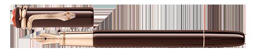 Montblanc - Heritage Rouge et Noir - Tropic Brown Fountain Pen (Reg: $800)