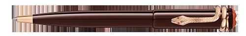 Montblanc - Heritage Rouge et Noir - Tropic Brown Ball Pen (Reg: $500)