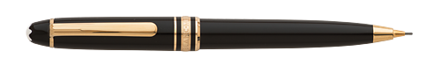 Black with Gold Trim(#15729) finish - Mozart Pencil #117  (Reg: $390) shown