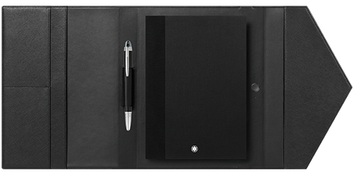 Sartorial Black finish - Note Pad & Pen shown