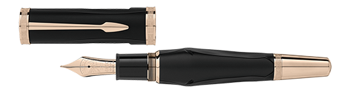 Montblanc Limited Editions - Homer Writers Edition - Year: 2018 - Black (IN STOCK!) - Edition: 9800 Fountain Pens - Fountain Pen