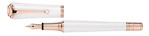 Montblanc - Marilyn Monroe - White Pearl Fountain Pen (Reg: $980)
