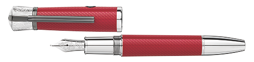 Rebel Red   finish - Fountain Pen (Reg: $990) shown