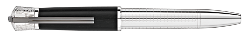 Montblanc - James Dean Special Edition - Black Wood Cap/Sterling Silver Barrel - 1931 Limited Edition   LeGrand Rollerball   (Reg: $2,970)