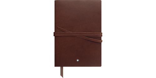 #146 Cowhide, blank finish - Notebook shown