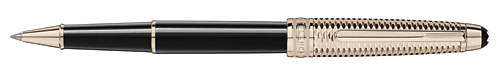 Champagne Gold Coated Doue   (Reg: $710) finish - Classique Rollerball  (#118093) shown