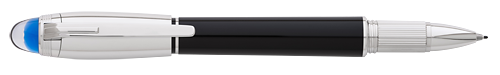 Montblanc - StarWalker Doue - Black/Platinum Coating Fineliner/Rollerball  (Reg: $500)