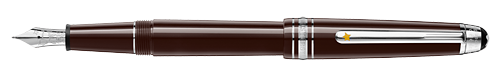 Brown finish - Classique Fountain Pen shown