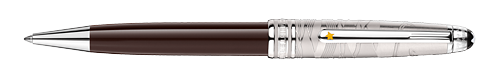 Doue Brown Lacquer/Platinum Coating finish - Classique Ballpoint(Reg: $660) shown