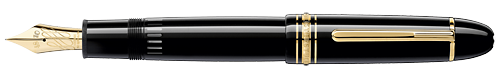 Montblanc - Meisterstuck 149 Calligraphy - Black  (Late March Delivery) 149 Flex Fountain Pen  (Reg: $980)