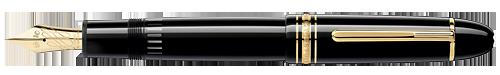 Montblanc - Meisterstuck 149 Calligraphy - Black  149 Flex Fountain Pen  (Reg: $980)