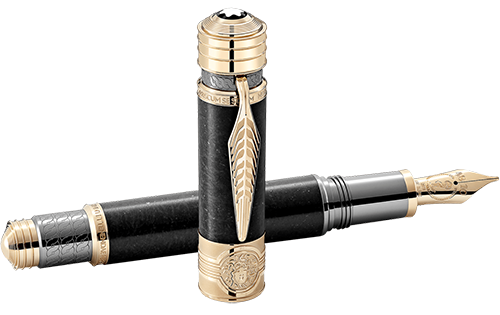 Montblanc Limited Editions - Patron of Art Homage to Hadrian Limited Edition 4810 - Year: 2019 - Basalt Stone - Fountain Pen (Reg: $2,970)