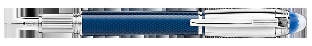 Montblanc - StarWalker Blue Planet - Metal Doue  (#125284) Fountain Pen (Reg: $1,045)