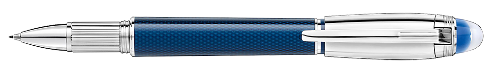 Montblanc - StarWalker Blue Planet - Metal Doue  (#125285) Fineliner/Rollerball  (Reg: $845)