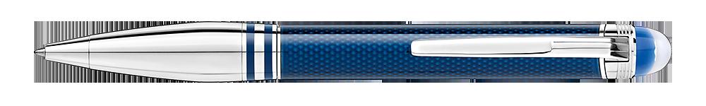 Montblanc - StarWalker Blue Planet - Metal Doue   (#125288) Ball Pen (Reg: $730)