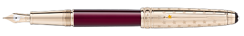 Doue Burgundy   finish - Classique Fountain Pen   shown